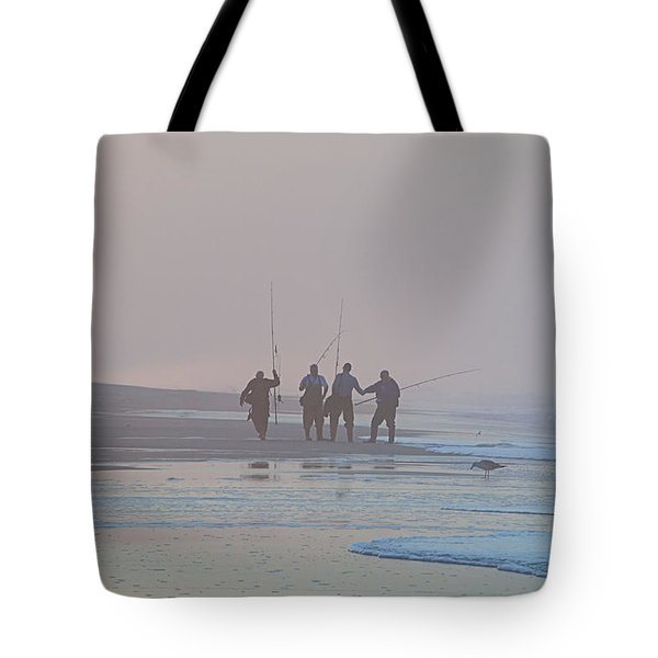 Tote Bag featuring the photograph All Done by  Newwwman