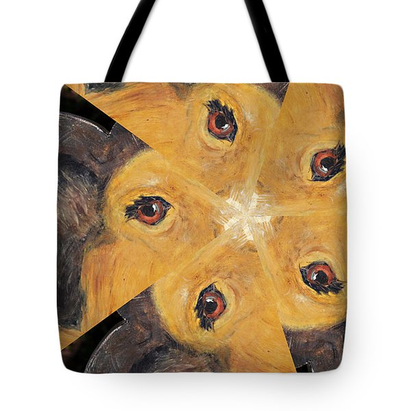 All Eyes And Ears Tote Bag