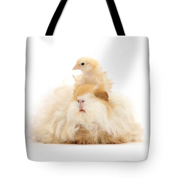 All Frizzed Up And Ready To Go Tote Bag