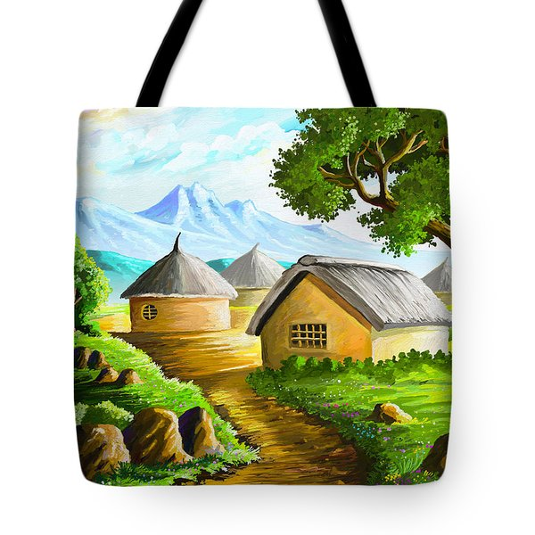 All Gone To Farm Tote Bag