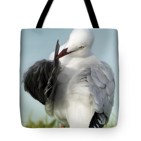 Tote Bag featuring the photograph All In A Days Work 01 by Kevin Chippindall