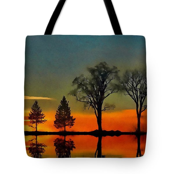 All In A Row  Tote Bag by Andrea Kollo