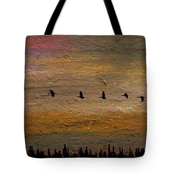 All In-a-row Tote Bag by R Kyllo