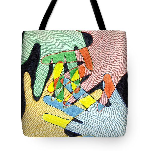 All In Tote Bag by Jean Haynes