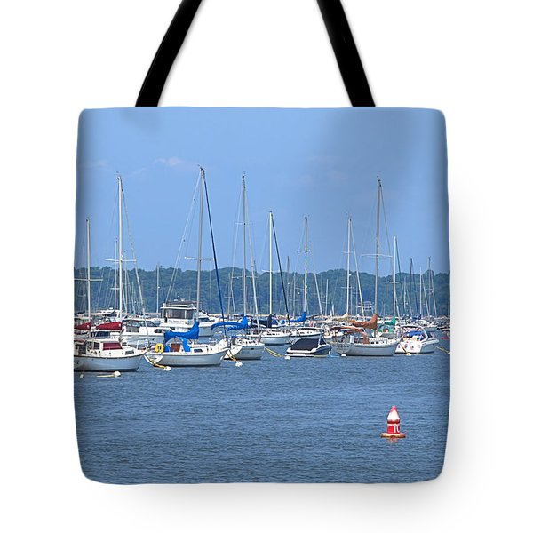 Tote Bag featuring the photograph All In Line by Newwwman