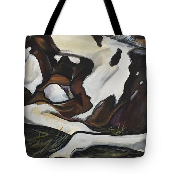 All Legs And Spots Tote Bag