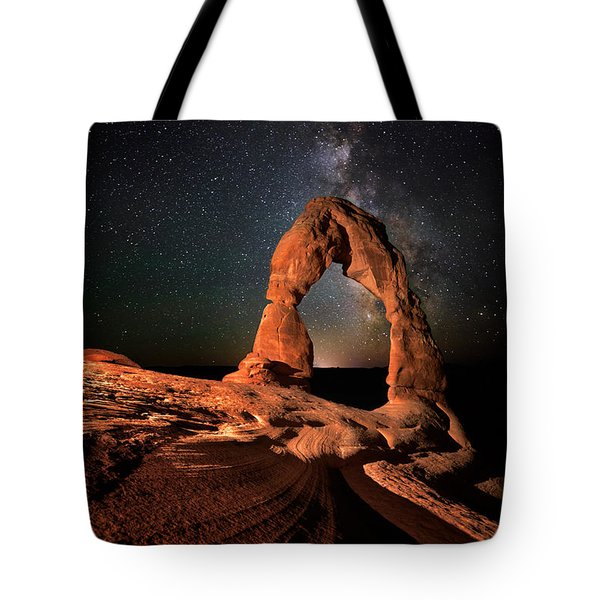 All Lines Lead To Delicate Arch Tote Bag