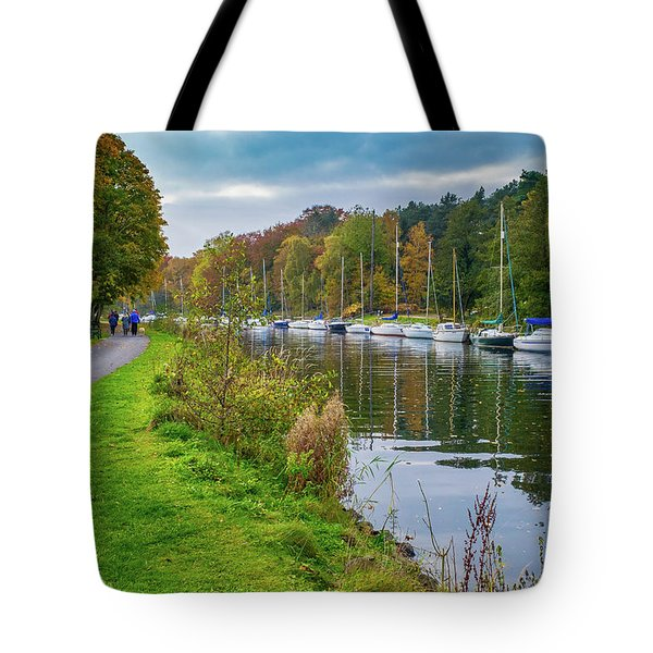 All Moored Up Tote Bag