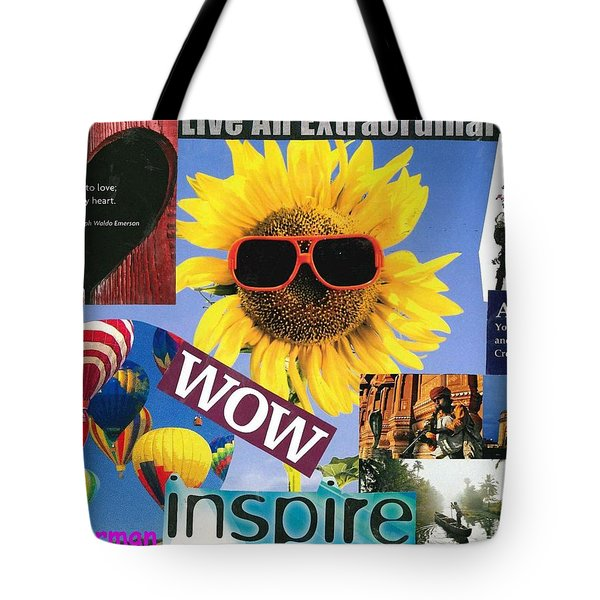 All Of Life Can Inspire Tote Bag