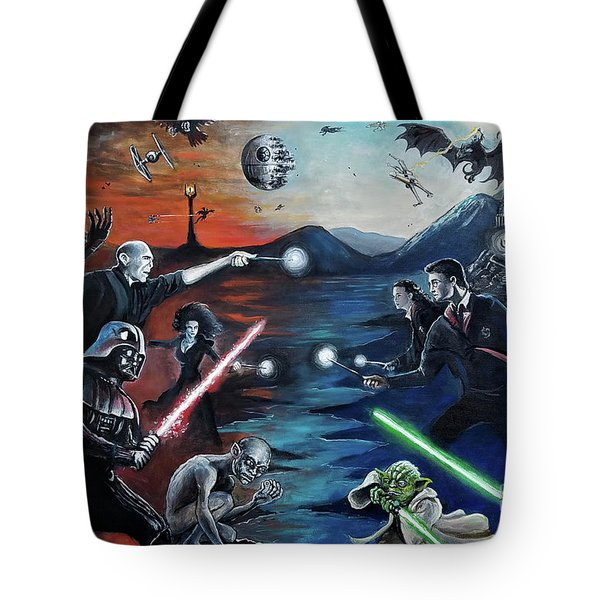 All Out War Tote Bag