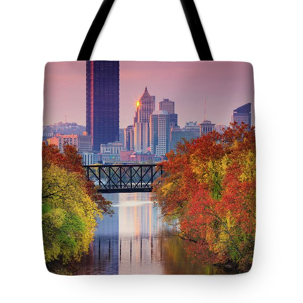 All Pittsburgh Pink  Tote Bag
