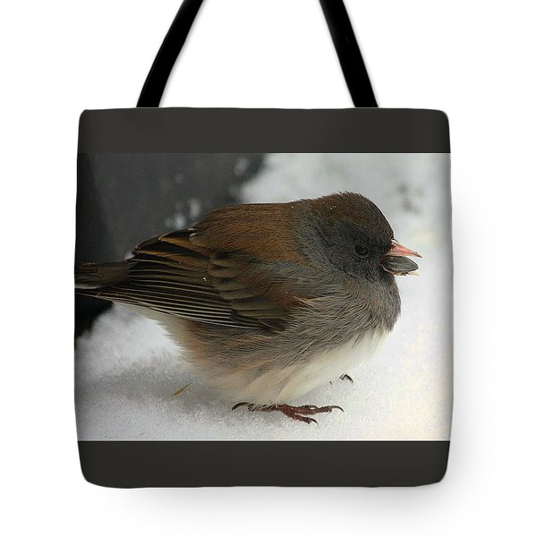 All Puffed Up Tote Bag by Sheila Brown