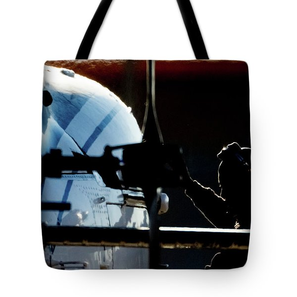 Tote Bag featuring the photograph All Ready by Paul Job