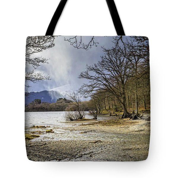 Tote Bag featuring the photograph All Seasons At Loch Lomond by Jeremy Lavender Photography