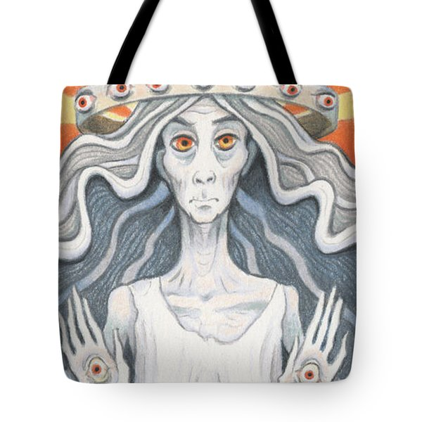 All-seeing Sage Tote Bag by Amy S Turner