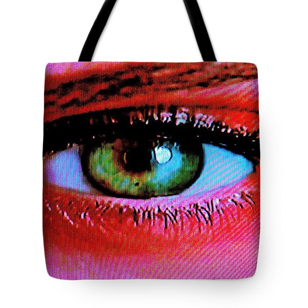 Tote Bag featuring the photograph All Seeing by Xn Tyler