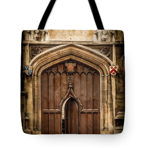 Oxford, England - All Souls Gate Tote Bag