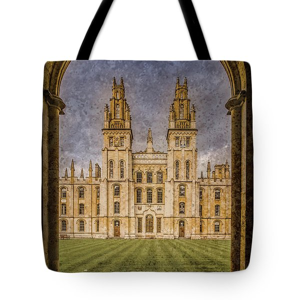 Oxford, England - All Soul's Tote Bag