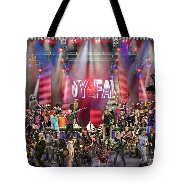 Tote Bag featuring the photograph All Star Jam by Don Olea