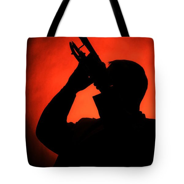 All That Jazz Tote Bag by M K  Miller
