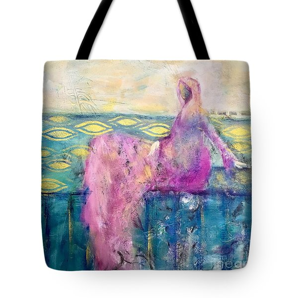 All That Moves Her Tote Bag
