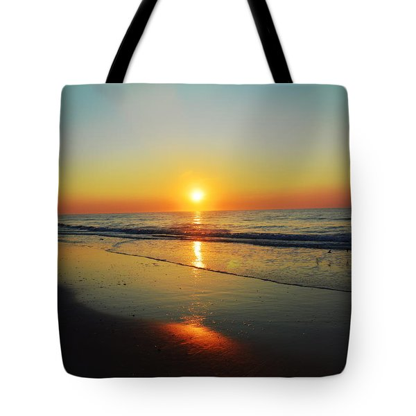 All That Shimmers Is Golden Tote Bag
