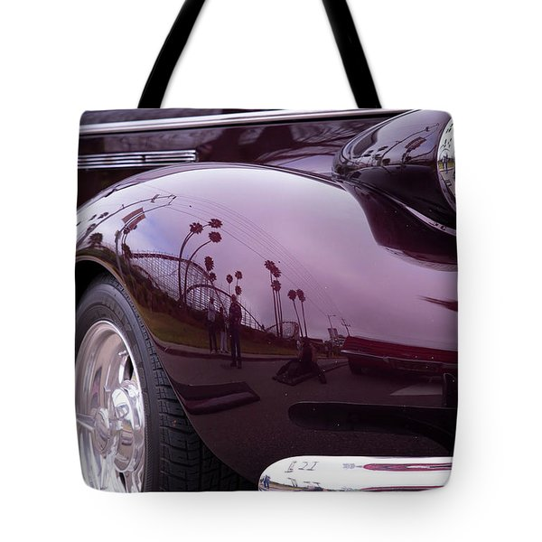 Tote Bag featuring the photograph All The Curves by Lora Lee Chapman