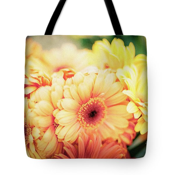 Tote Bag featuring the photograph All The Daisies by Ana V Ramirez