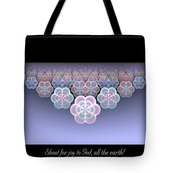 Tote Bag featuring the digital art All The Earth by Missy Gainer