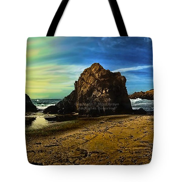 All The Gold In California Tote Bag