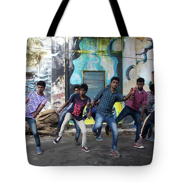 All The Moves Tote Bag