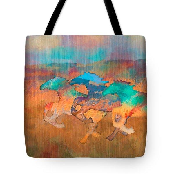 All The Pretty Horses Tote Bag