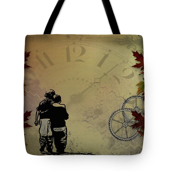 All The Time In The World Tote Bag by Bill Cannon