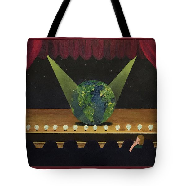 All The World's On Stage Tote Bag