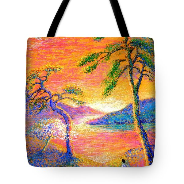 Buddha Meditation, All Things Bright And Beautiful Tote Bag