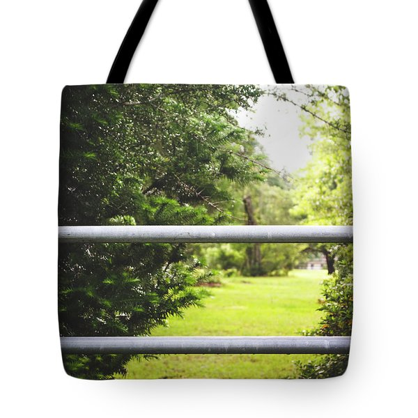 Tote Bag featuring the photograph All Things Green by Shelby Young