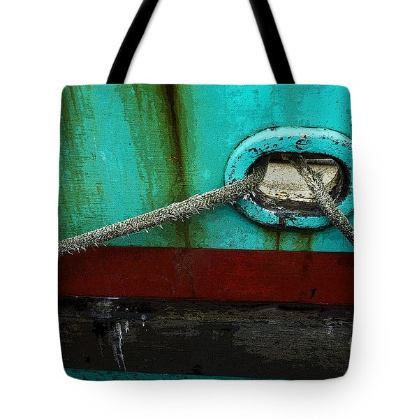All Tied Up Tote Bag by Bob Christopher