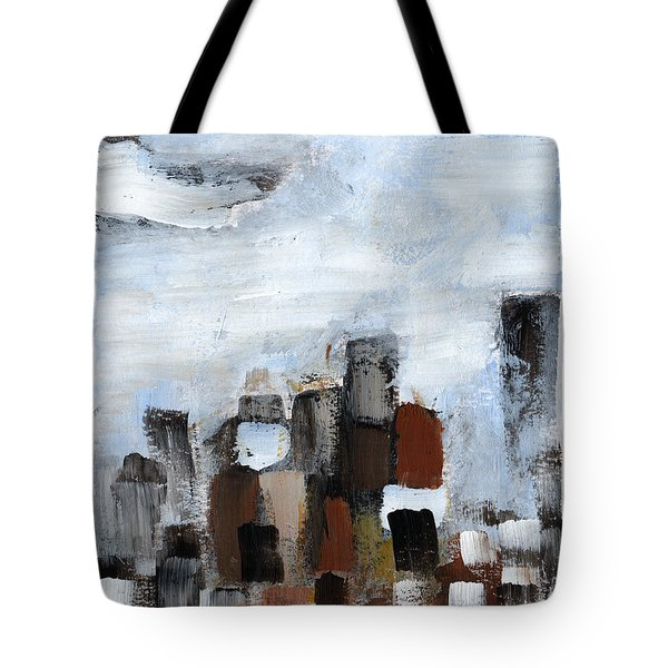 Tote Bag featuring the painting All Together by Rick Baldwin