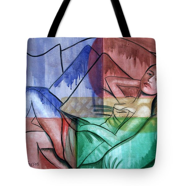 All Wet Tote Bag by Anthony Falbo