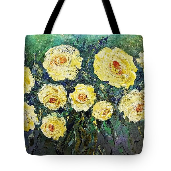 All Yellow Roses Tote Bag
