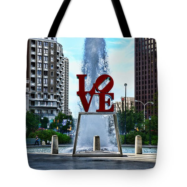 All You Need Is Love Tote Bag by Paul Ward