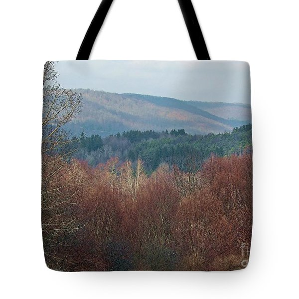 Allegany Rhapsody Tote Bag by Christian Mattison