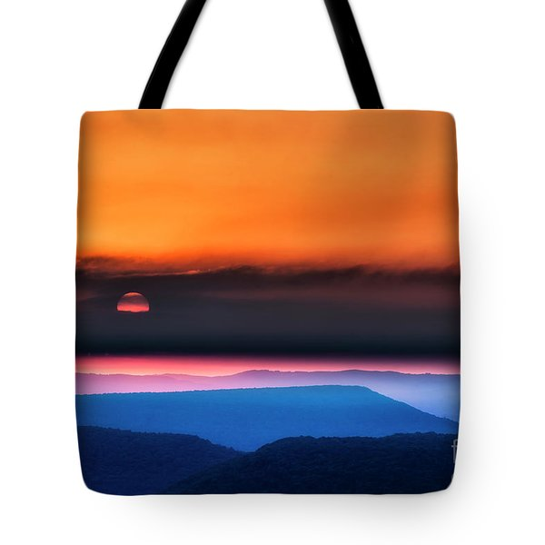 Allegheny Mountain Sunrise 2 Tote Bag