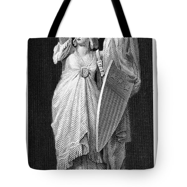 Allegory: Columbia, 1870 Tote Bag by Granger