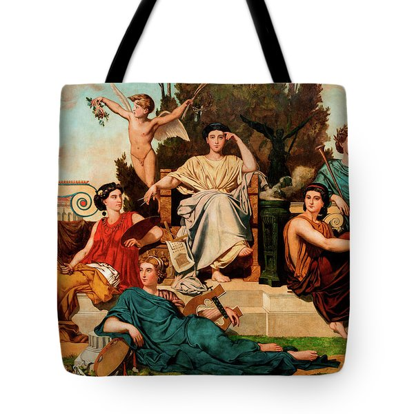 Allegory To The Arts Tote Bag