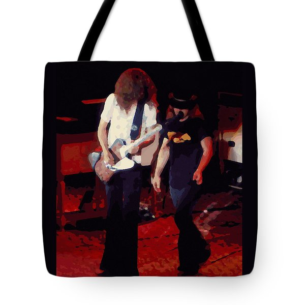 Allen And Ronnie Winterland 1 Tote Bag by Ben Upham