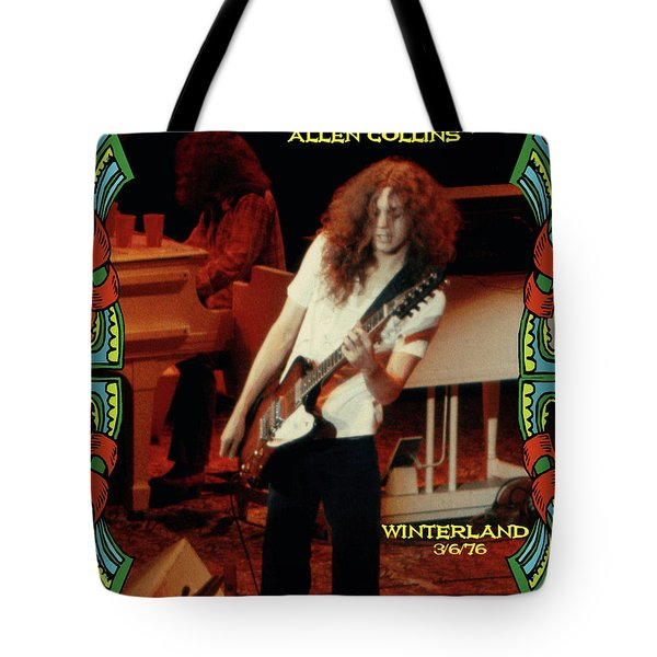 A C Winterland 1976 Tote Bag by Ben Upham