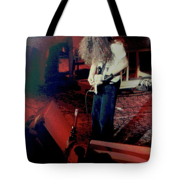 Tote Bag featuring the photograph A C Winterland Bong 2 by Ben Upham