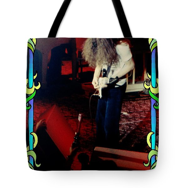 Tote Bag featuring the photograph A C Winterland Bong 3 by Ben Upham