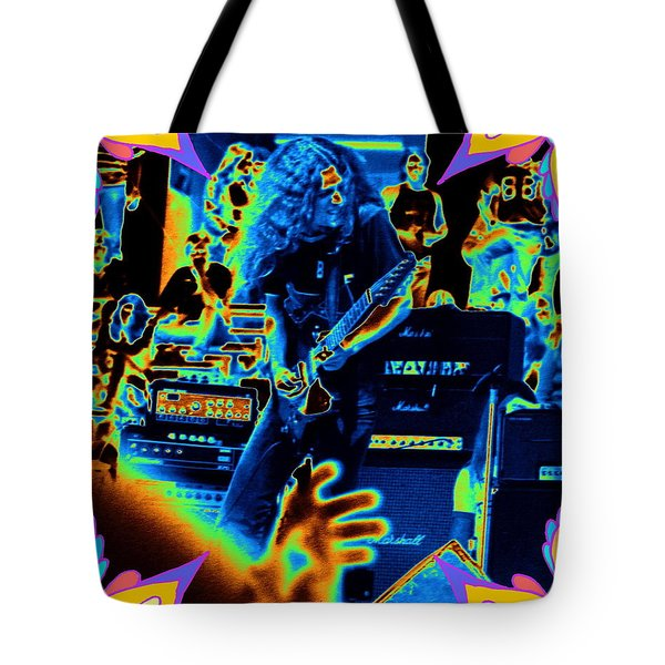 Tote Bag featuring the photograph Allen Cosmic Free Bird Oakland 1 by Ben Upham